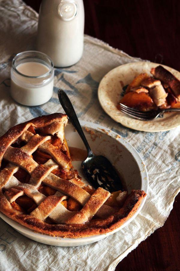 "<strong>Get the <a href=""http://www.pastryaffair.com/blog/vanilla-bean-cardamom-peach-pie.html"" target=""_blank"">Vanilla Bean"