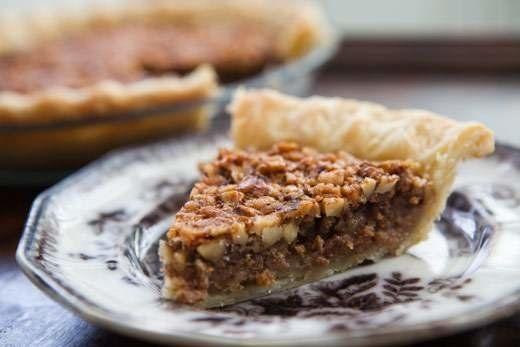 "<strong>Get the <a href=""http://www.simplyrecipes.com/recipes/walnut_maple_pie/"" target=""_blank"">Walnut Maple Pie recipe</a>"