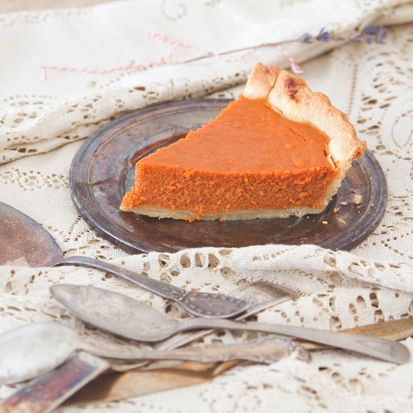"""<strong>Get the <a href=""""http://food52.com/recipes/19565-carrot-honey-pie-with-five-spice"""" target=""""_blank"""">Carrot Honey Pie w"""