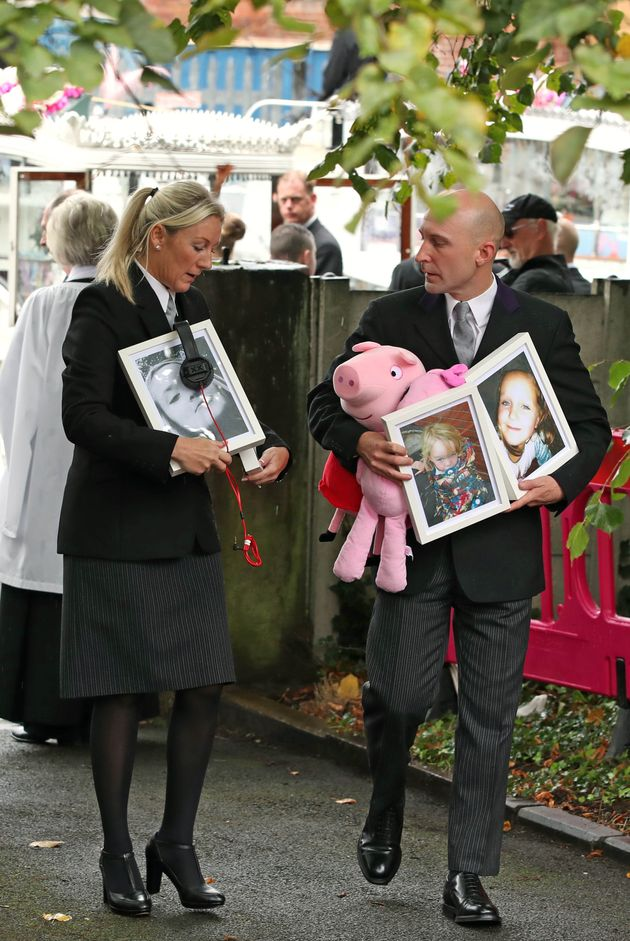 Hundreds Line Streets For Funerals Of Children Killed In Manchester Arson