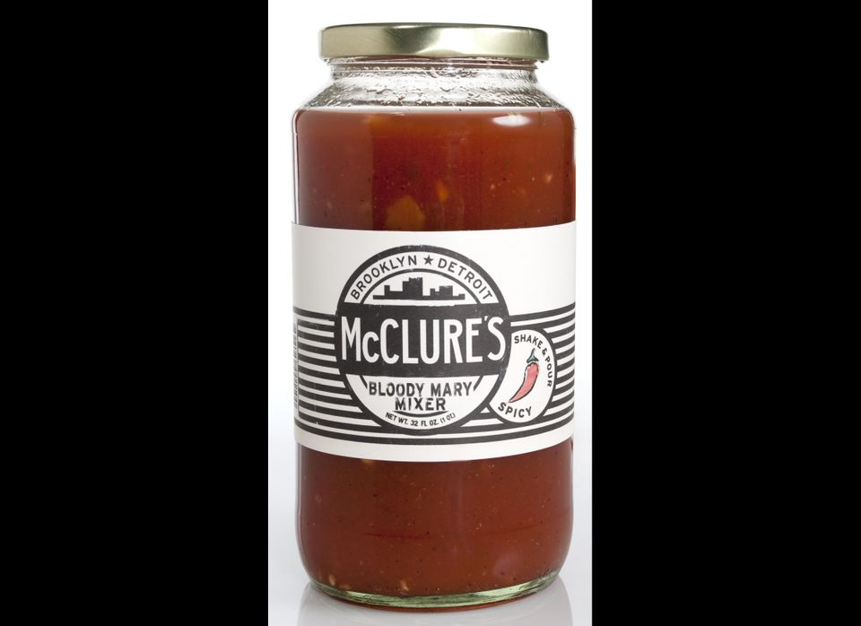 """<strong><a href=""""http://www.mcclurespickles.com/"""" target=""""_hplink"""">McClure's Spicy Bloody Mary Mix</a></strong> If you like"""