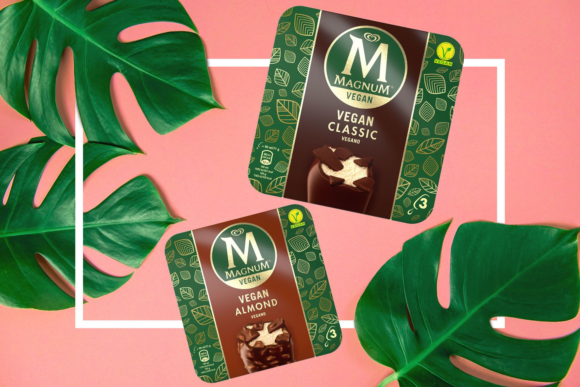 Magnum Has Launched Vegan Ice Creams In The UK (And We Can't Wait To Try