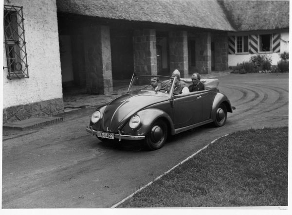 The Beetle's dome shape dates back to the Nazi era, but it became iconic in the 1960s.