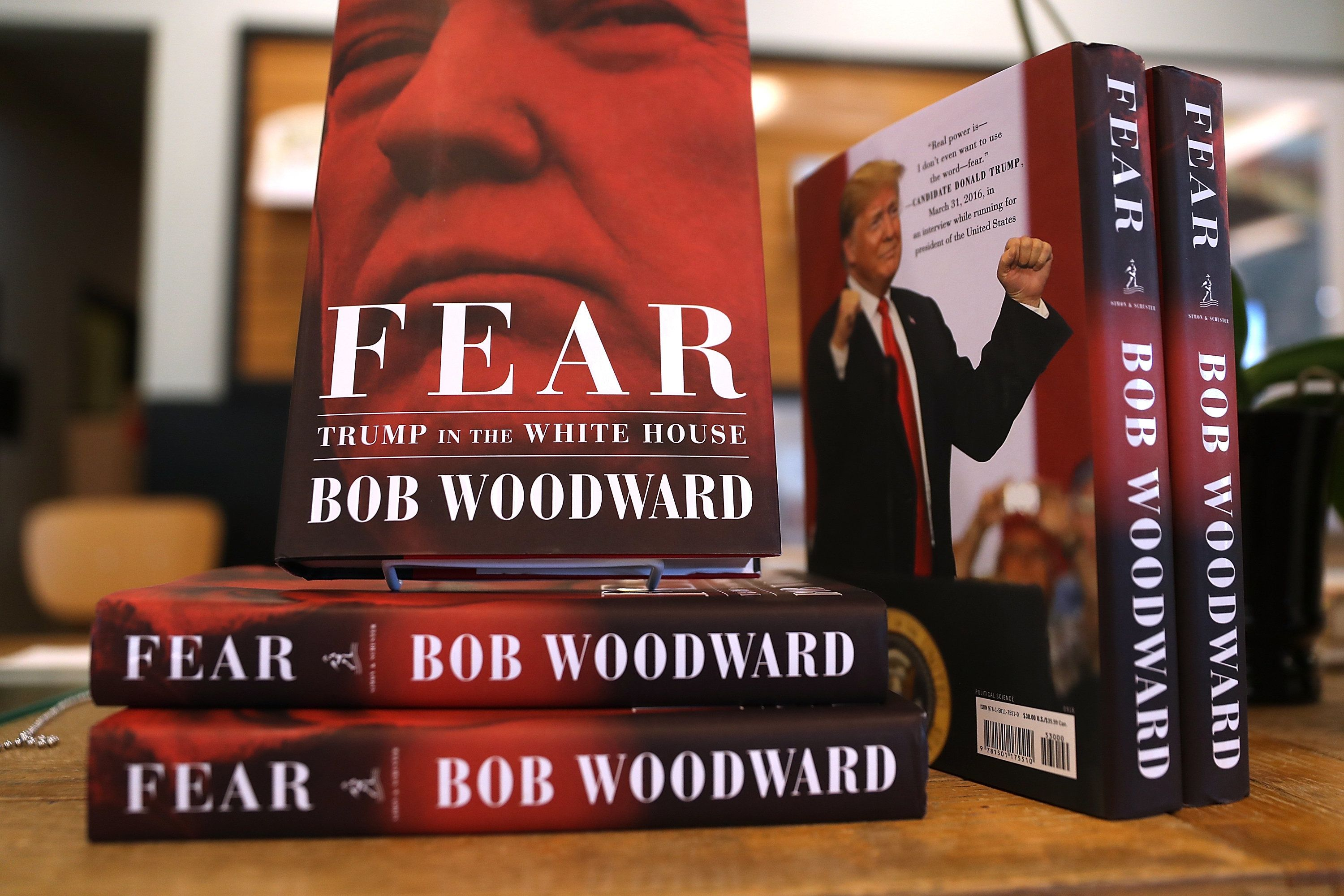 Bob Woodward says he would share source material for his new book, <i>Fear: Trump in the White House</i>, if his sources publ