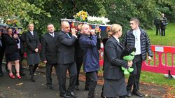 Hundreds Line Streets For Funerals Of Children Killed In Arson