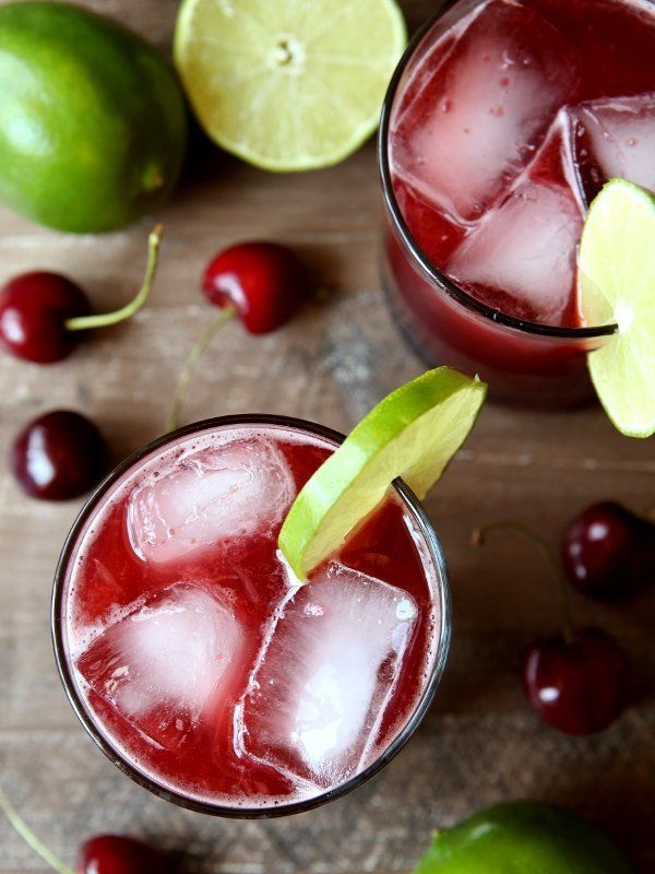 "<strong>Get the <a href=""http://www.completelydelicious.com/2015/06/cherry-limeade.html"" target=""_blank"">Cherry Limeade recip"