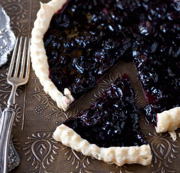 "<strong>Get the <a href=""http://thebeeroness.com/2012/10/25/ipa-cherry-tart/"" target=""_blank"">IPA Cherry Tart recipe</a> from"