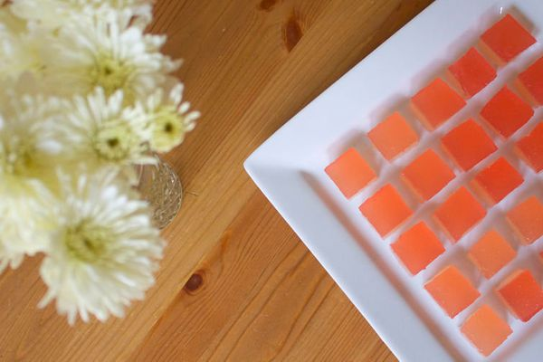 """<strong>Get the <a href=""""http://food52.com/recipes/28884-champagne-rhubarb-jelly-shots"""" target=""""_blank"""">Champagne Rhubarb Jel"""