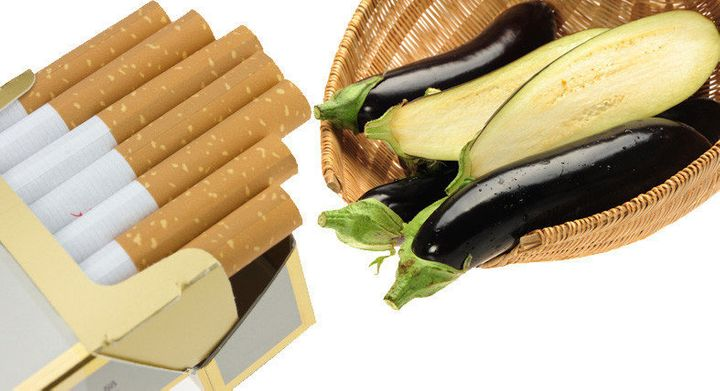 Nicotine In Vegetables: 20 Pounds Of Eggplant Equivalent To