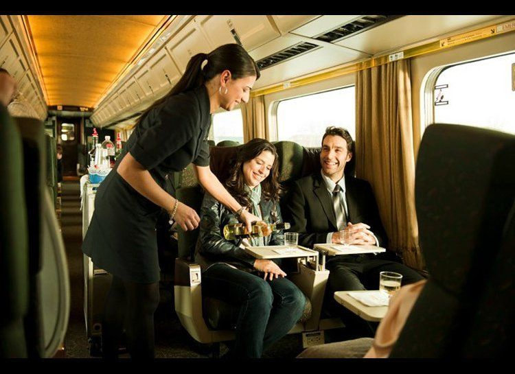 While most people associate luxury long-distance train excursions with Europe and Asia, Canada's VIA Rail service has been ex