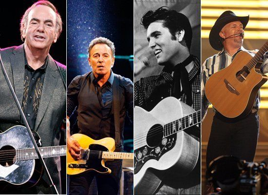 <strong>a) Neil Diamond