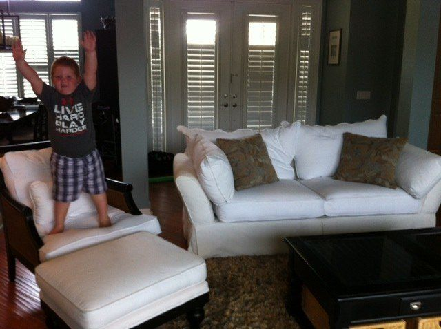 Why A White Couch And Kids Isn T The Worst Combination Ever
