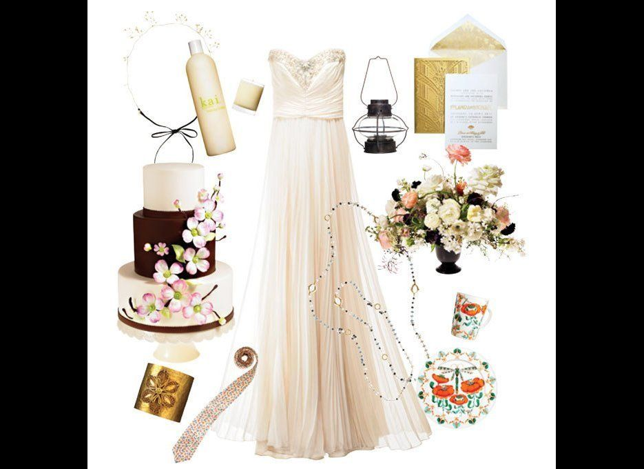 A glam-yet-casual event filled with natural details.