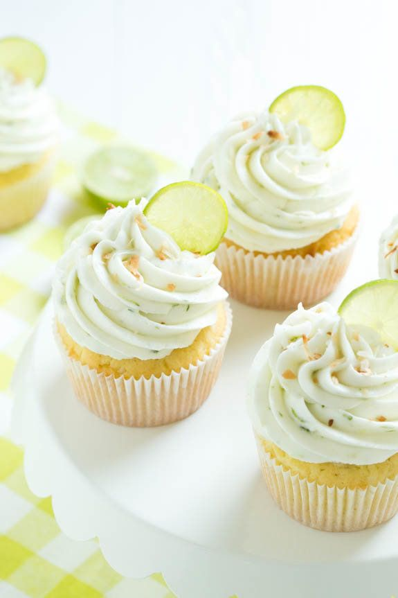 "<strong>Get the <a href=""http://www.lifeloveandsugar.com/2015/06/03/key-lime-coconut-cupcakes/"" target=""_blank"">Key Lime Coco"
