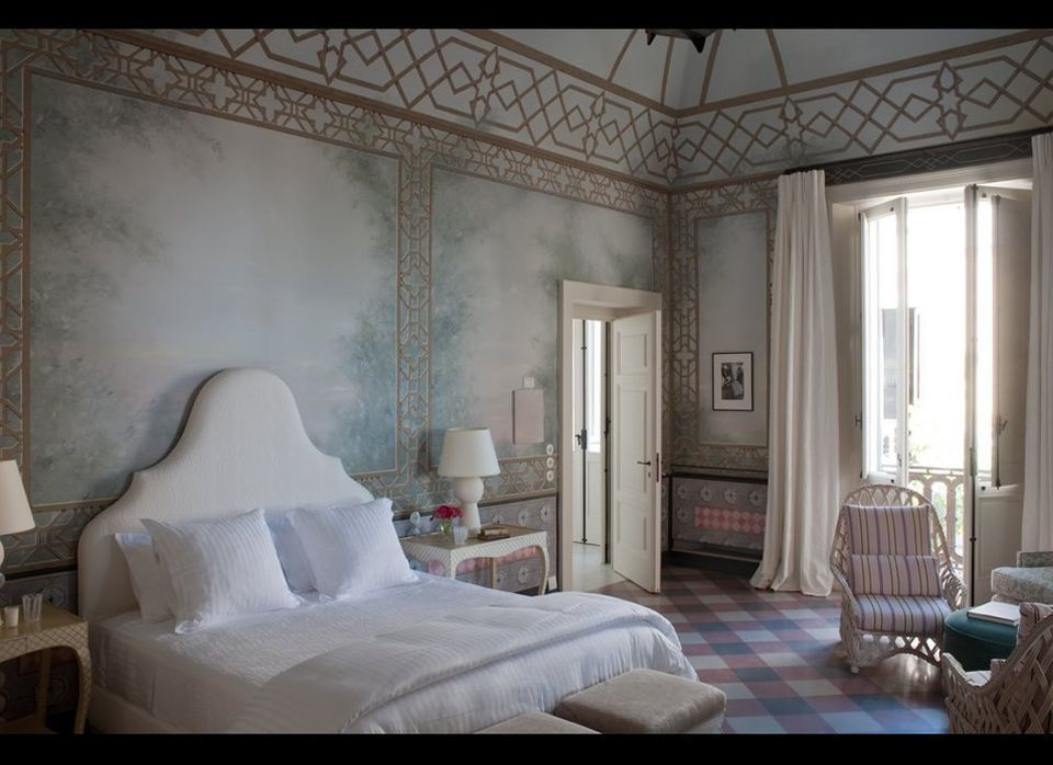 My favorite of Palazzo Margherita's suites is #4, where Sofia Coppola stays (Coppola's daughter, also an Academy Award-winnin