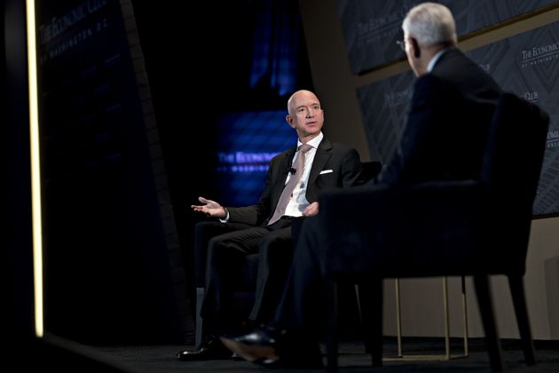 The World's Richest Man Came To Washington, D.C., And It Was