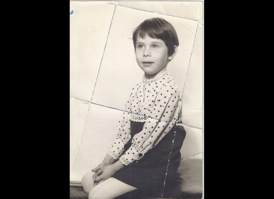 My pixie cut, 1967. I hated it so much, I didn't want to leave the house.