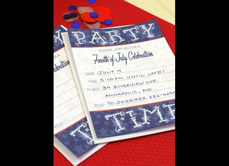 6 Independence Day Printable Invitations