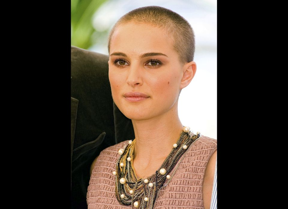 Female Stars With Shaved Heads