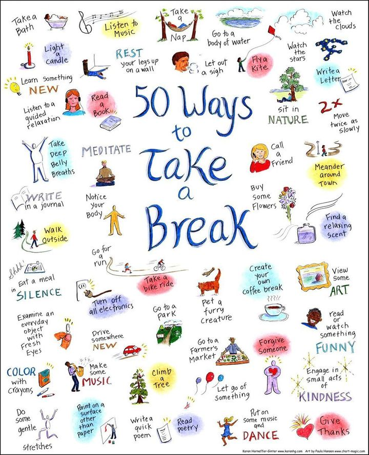 50 Ways to Take a Break, and the Essential First Step of ...