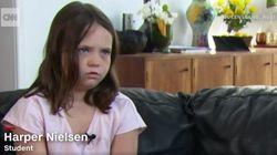 À 9 ans, cette fillette a provoqué un débat national sur l'hymne