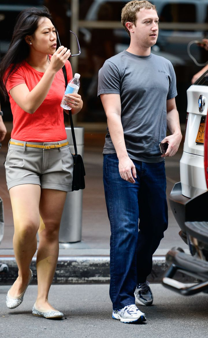 Priscilla Chan Wears Trendy Outfit With Mark Zuckerberg In