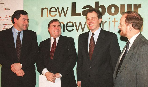Gordon Brown, John Prescott, Tony Blair and Robin Cook tour the country to campaign for the new Clause...