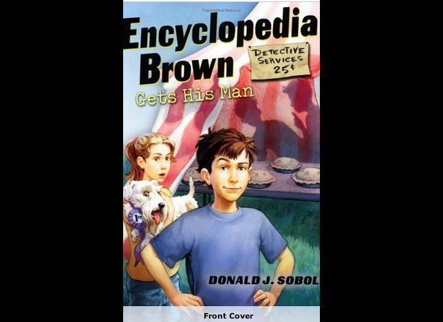 "<strong>She's ""the prettiest girl in fifth grade, and the best fighter,"" <a href=""http://www.amazon.com/Encyclopedia-Brown-Ge"