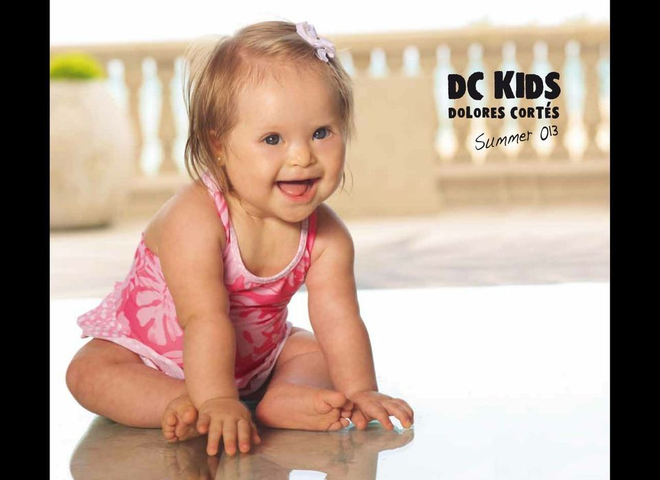 Valentina Guerrero, a 10-month-old girl from Miami, Florida, appears on the cover of DC Kids Summer 2013 Catalog.
