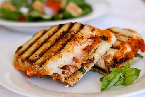 "<strong>Get the <a href=""http://www.annies-eats.com/2010/04/12/eggplant-parmesan-panini/"" target=""_blank"">Eggplant Parmesan P"