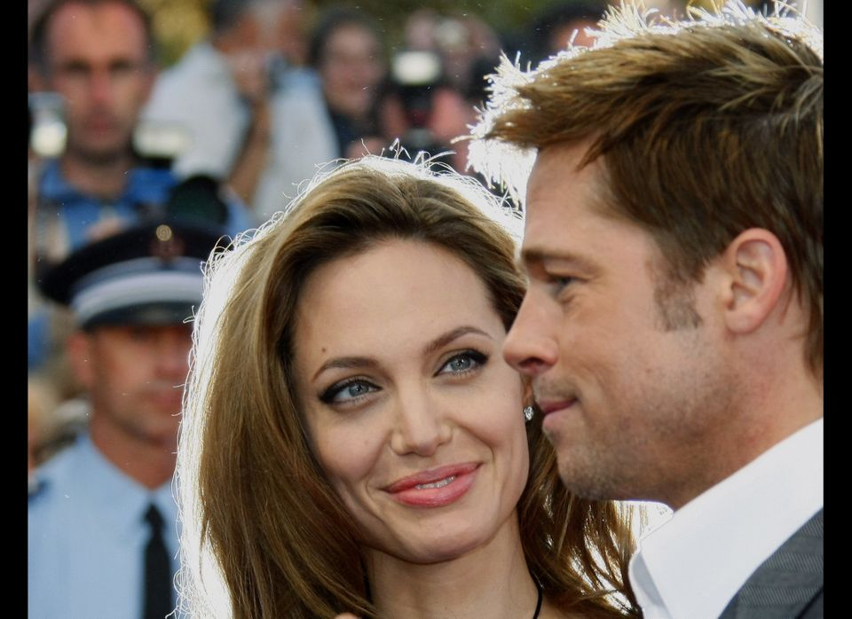 In 2004, rumors surfaced that co-stars Brad Pitt and Angelina Jolie were doing more than just acting on the set of the action