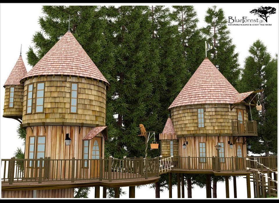 Author JK Rowling is in the process of planning approvals for two treehouses for her children Kenzie and David in the city of