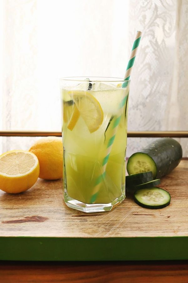 "<strong>Get the <a href=""http://www.abeautifulmess.com/2014/03/cucumber-lemonade-with-gin.html"" target=""_blank"">Cucumber Gin"