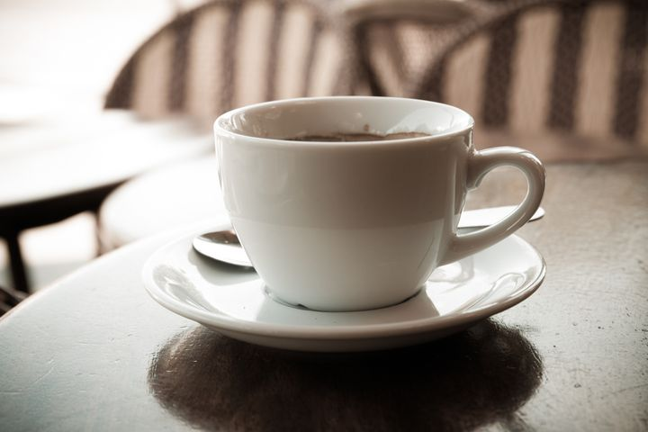 wonderful white cup of hot...