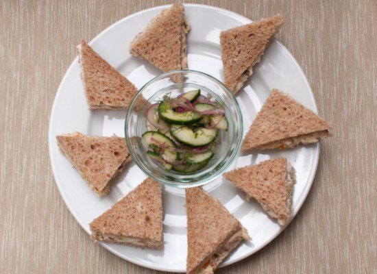 """<strong>Get the <a href=""""http://lifewiththelushers.com/2012/07/updated-tea-sandwiches/"""" target=""""_hplink"""">Olive Pimento Cheese"""