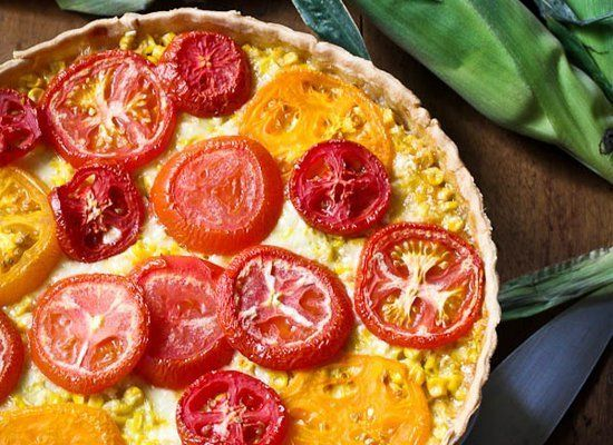 "<strong>Get the <a href=""http://www.merrygourmet.com/2011/07/tomato-corn-and-vidalia-onion-tart/"" target=""_hplink"">Tomato, Co"