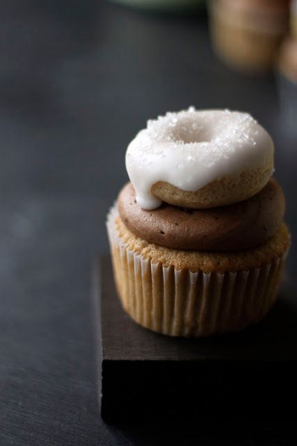 """<strong>Get the<a href=""""http://alwayswithbutter.blogspot.com/2011/03/coffee-and-donuts-cupcakes.html"""" target=""""_blank""""> Coffee"""