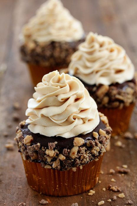 """<strong>Get the<a href=""""http://www.bakersroyale.com/cupcakes/toffee-crunch-cupcake/"""" target=""""_blank""""> Toffee Crunch Cupcake r"""