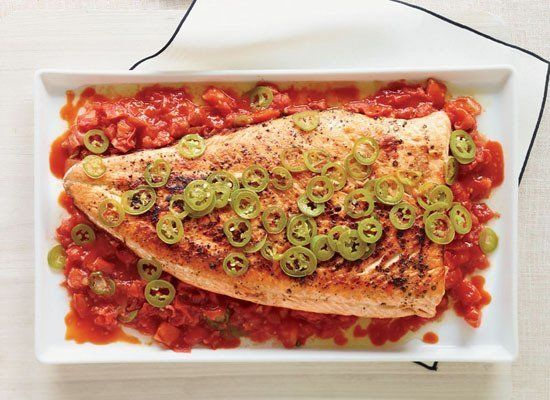 """<strong>Get the <a href=""""https://www.huffpost.com/entry/grilled-salmon-with-melte_n_1058463"""" target=""""_hplink"""">Grilled Salmon"""