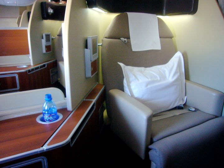 Category:Qantas Category:First class (aircraft cabins.