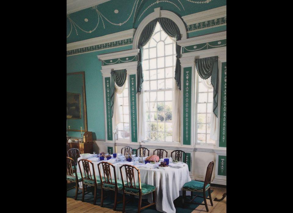 George Washington's Dining Room,  Mount Vernon Estate Virginia