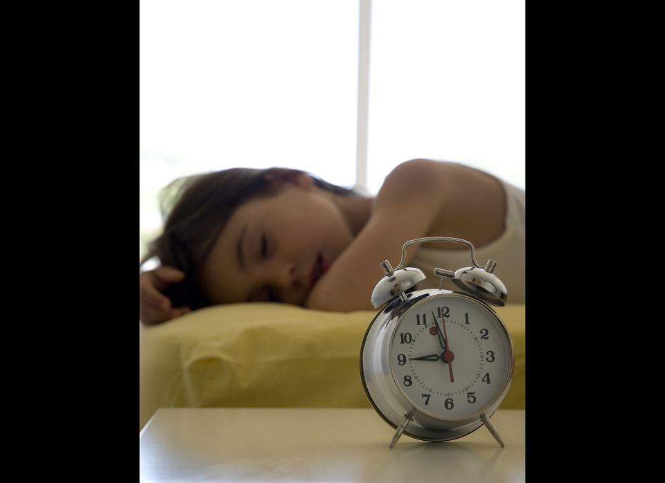 "Rather than jolting the body awake on the first day of school, ease into earlier bedtimes and mornings <a href=""http://www.sl"