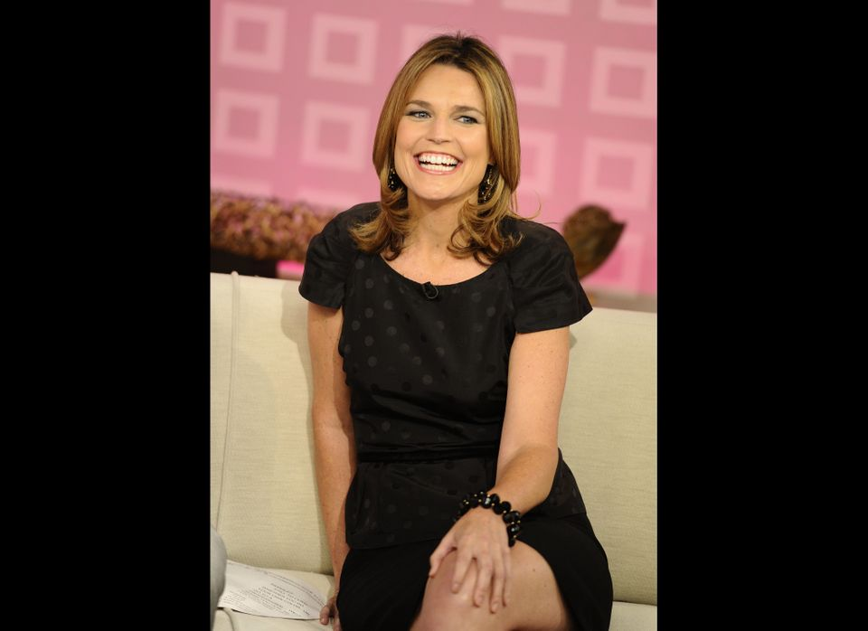 Savannah Guthrie Wears Awkward Dress On Today Show Photo