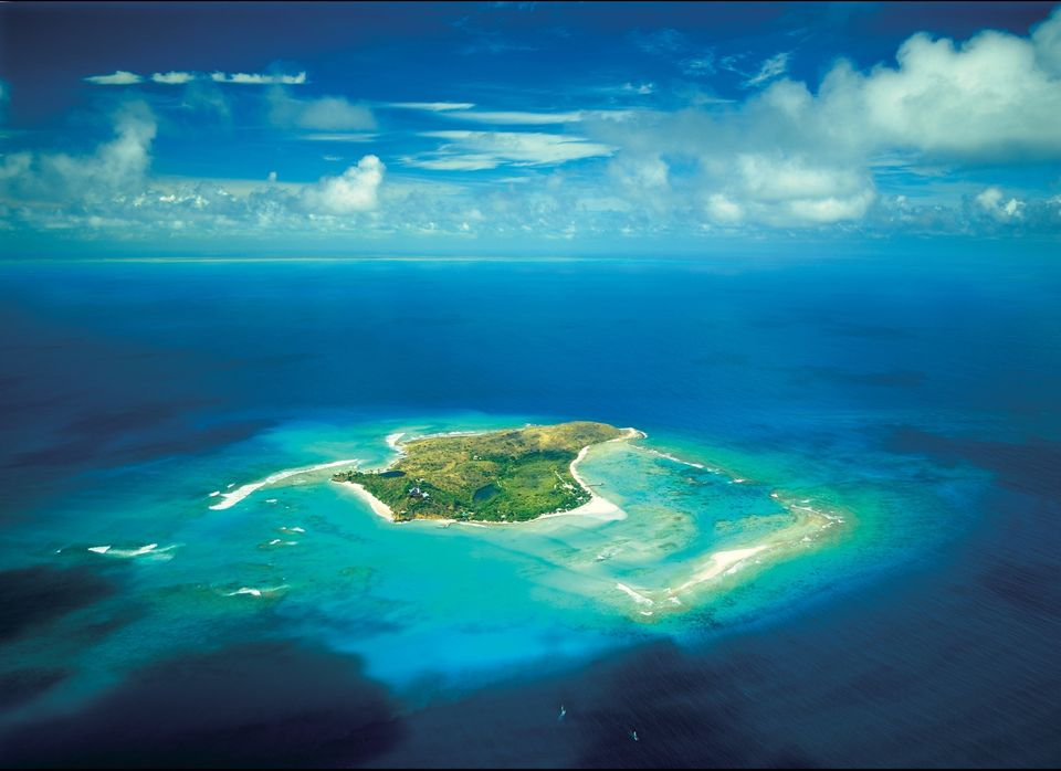 Necker Island--also known as a little piece of heaven--is an island in the Caribbean that British businessman Richard Branso