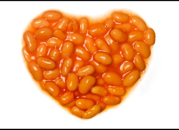 """Beans are """"heart healthy"""" because they contain an abundance of soluble fiber, which can lower cholesterol and triglyceride le"""