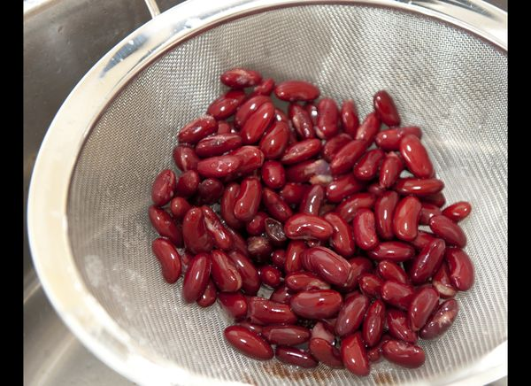 Beans can are the least expensive source of protein, especially when compared to fresh meat.