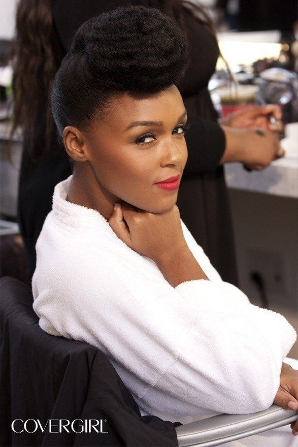 Janelle Monae CoverGirl Ads Are Cooler Than, Oh, Everyone