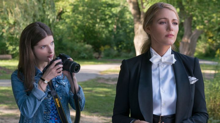 "Anna Kendrick, left, and Blake Lively in ""A Simple Favor."""