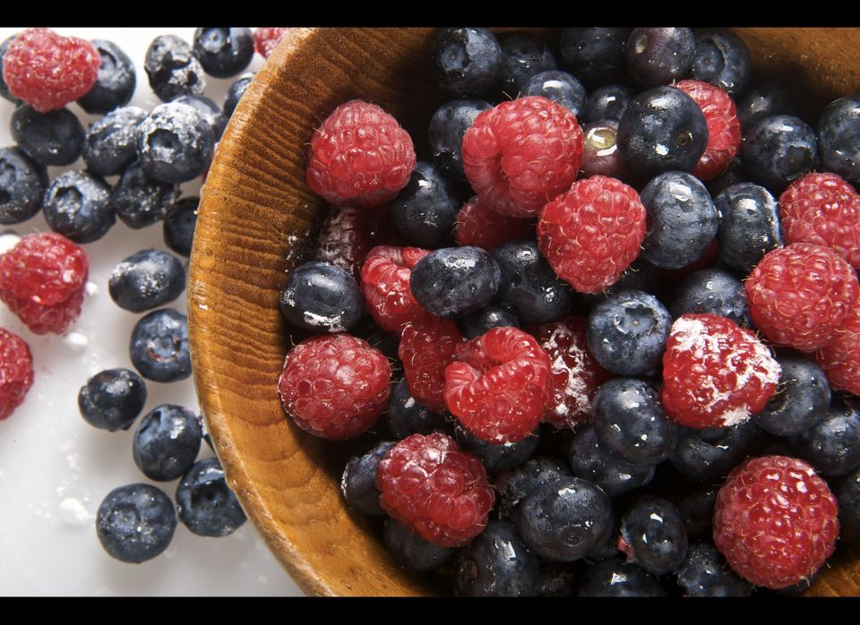 Berries contain anthocyanin, an antioxidant pigment that increases your ability to remember things. One three-month research