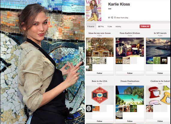 "<a href=""http://pinterest.com/karlieekloss/"" target=""_hplink"">Karlie Kloss' Pinterest</a>